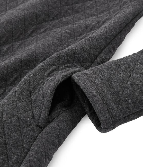 Women's Long-Sleeved Tube Knit Dress City Chine grey