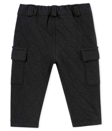 Baby boy's quilted cotton tubic trousers