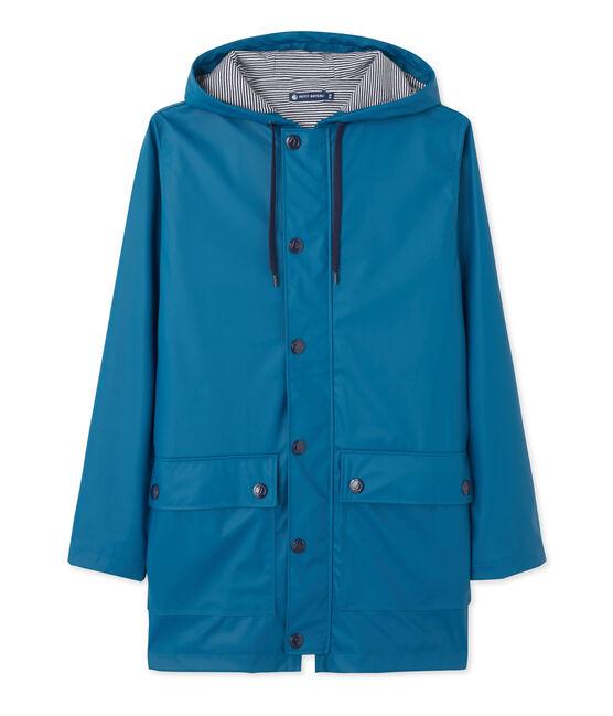 Iconic women's raincoat Contes blue