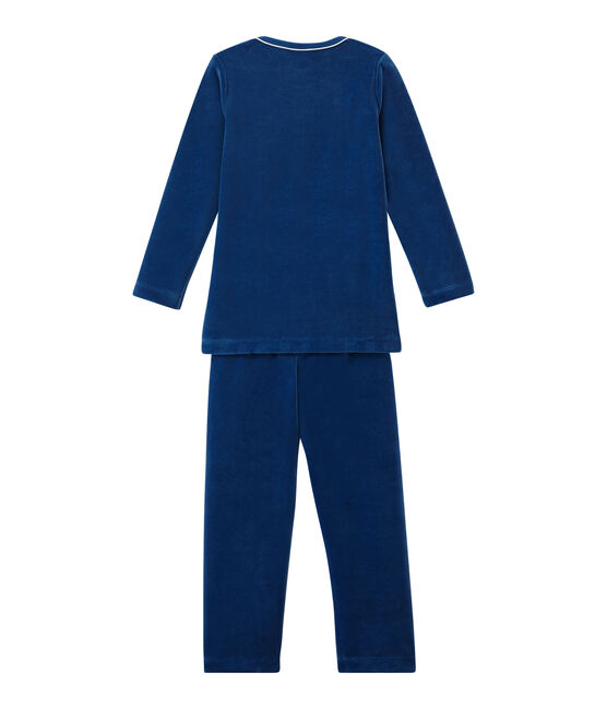 Little boy's pyjamas Limoges blue