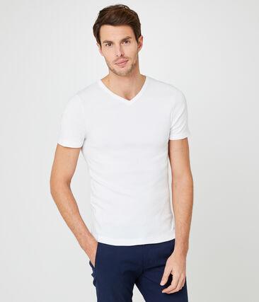 Men's short-sleeved v-neck t-shirt