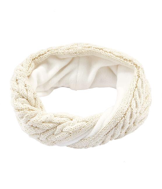 Girls' Snood Marshmallow white / Or yellow
