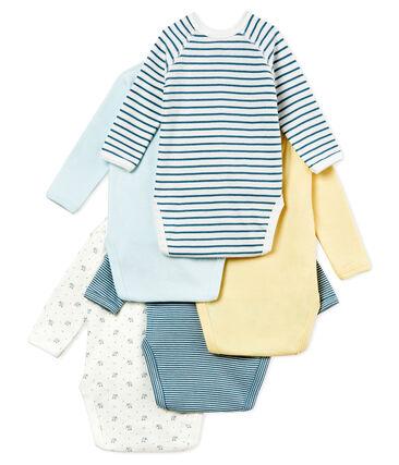 Baby Boys' Newborn Bodysuit - Set of 5