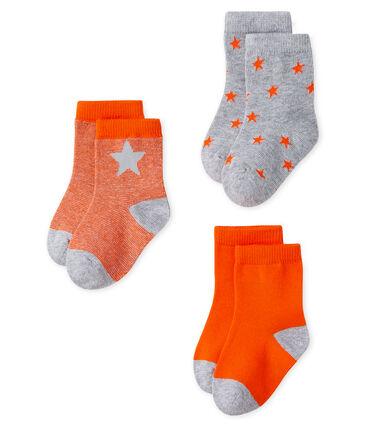 Baby Boys' Socks - 3-Piece Set
