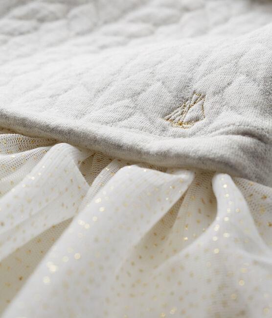 Baby Girls' 2 in 1 Long-Sleeved Dress Beluga grey