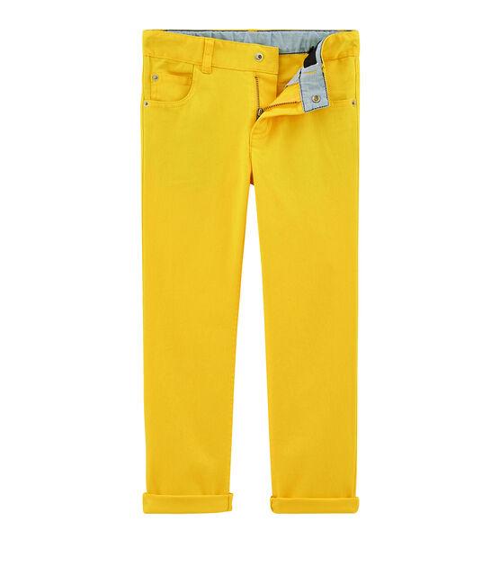 Boys' Trousers Shine yellow
