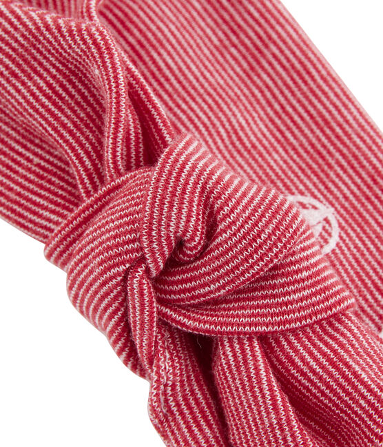 Girls' Hairband Marshmallow white / Terkuit red