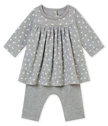 Baby girl's leggings dress