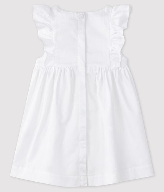 Baby girl's formal dress Ecume white