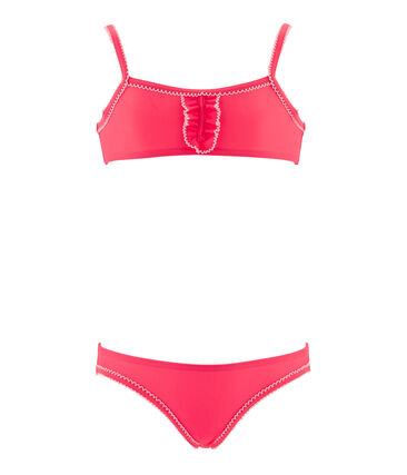 Girls' Two-Piece Swimsuit Cupcake pink
