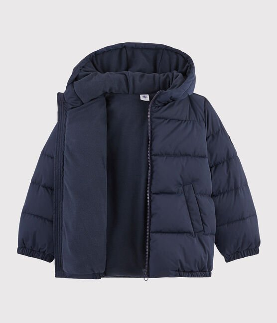 Boys' puffer jacket Smoking blue