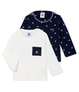 Baby Boys' Long-sleeved T-Shirt - 2-Piece Set