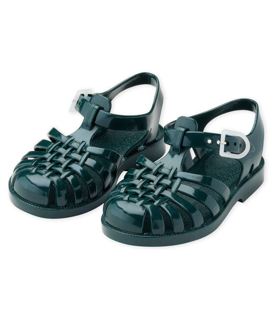 MÉDUSE® sandal for baby Pinede green