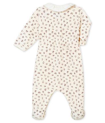 Baby girl's printed tubic sleepsuit