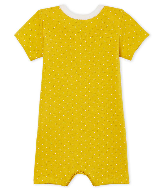 Baby Girls' Shortie Honey yellow / Marshmallow white