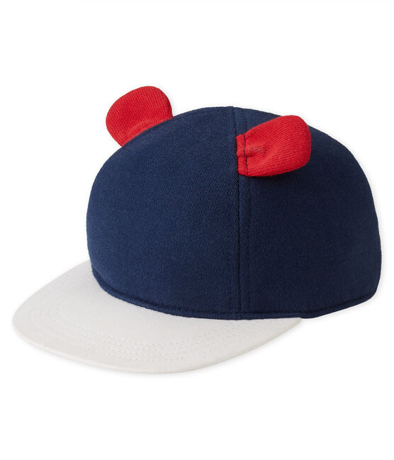 Baby cap Smoking blue / Multico white