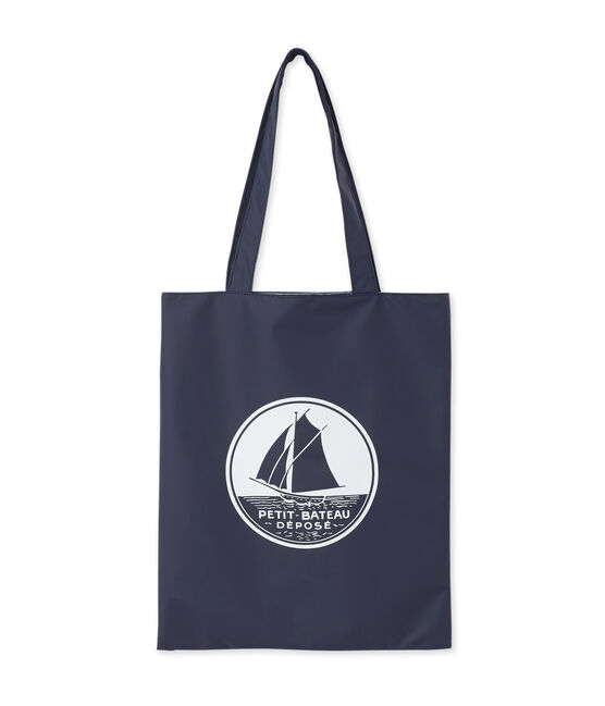 Plain shopping bag Smoking blue