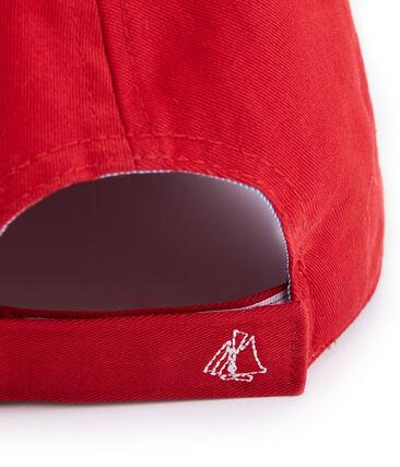 Unisex Child's Cap Terkuit red