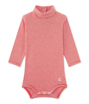 Mixed baby's roll neck milleraies body