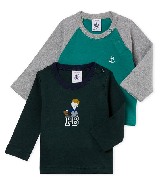 Set of 2 baby boy's T-shirts . set