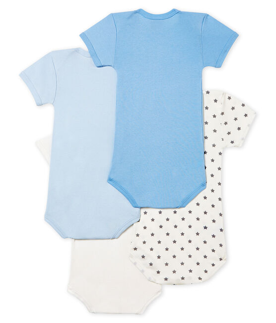 Baby Boys' Short-Sleeved Bodysuit - Set of 4 . set