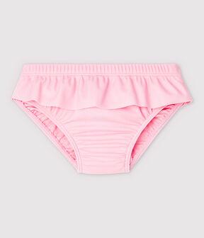 Baby Girls' Eco-Friendly Bikini Brief Minois pink
