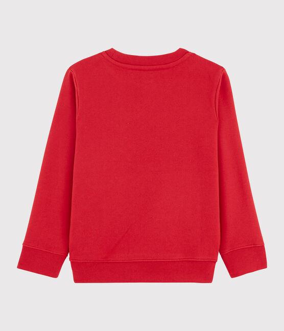 Boy's Sweatshirt Terkuit red