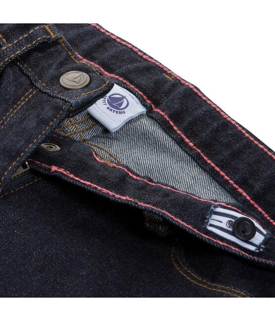 Girls' Denim Trousers Jean blue