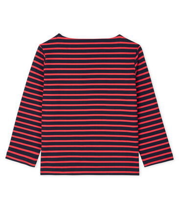 Women's Sailor Top Smoking blue / Signal red