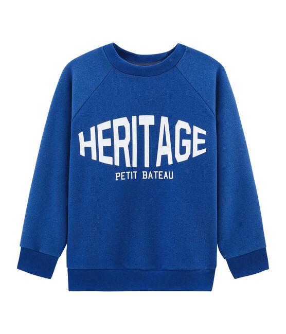 Boy's Sweatshirt Limoges blue