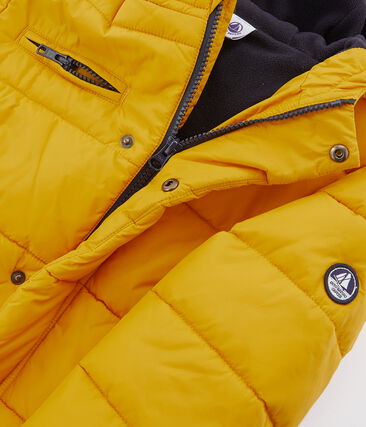 Boys' Down Coat Boudor yellow