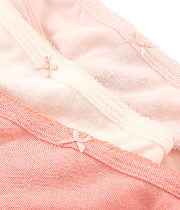 Girls' Linen/Cotton pants - Set of 3