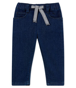 Unisex baby denim look trousers