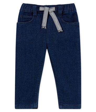Unisex baby denim look trousers