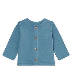 Baby girls' cotton/linen cardigan