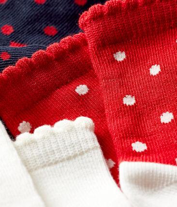 Baby Girls' Socks - 3-Piece Set . set