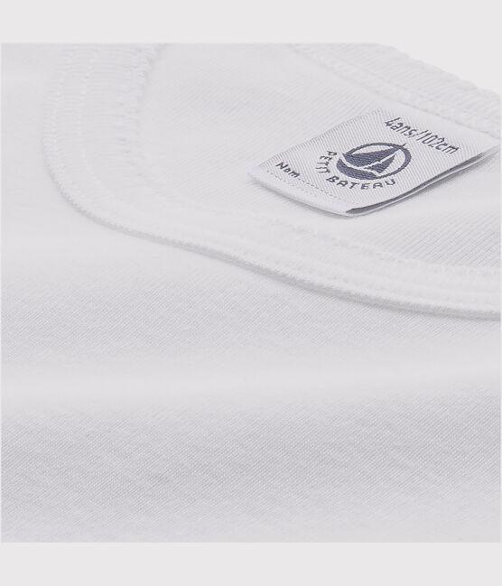 Girls' Long-sleeved White T-Shirts - 2-Pack . set