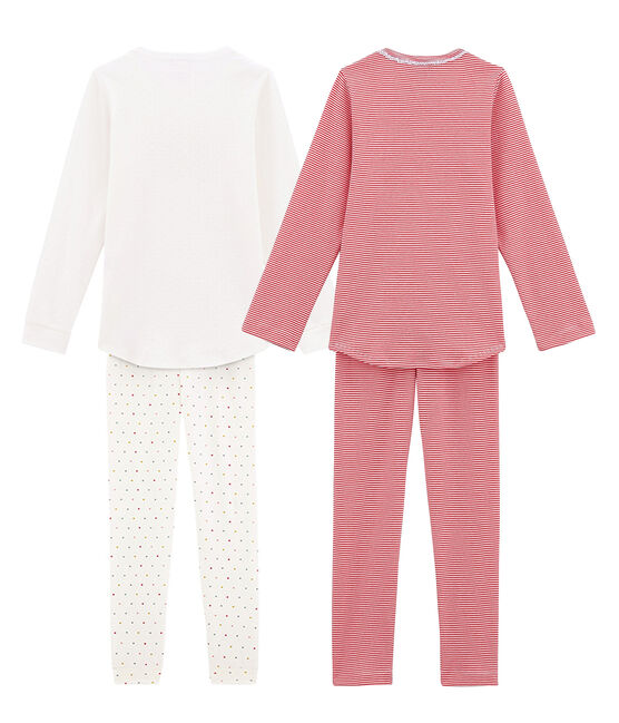 Girls' Light Pyjamas - Set of 2 . set