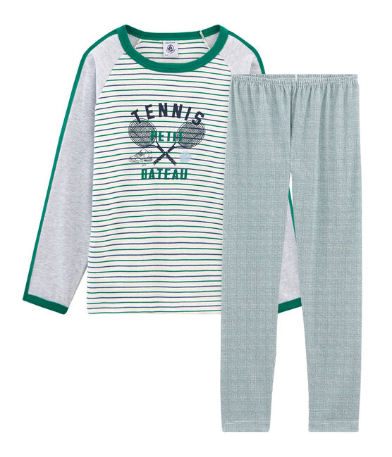 Boys' Pyjamas Marshmallow white / Multico white