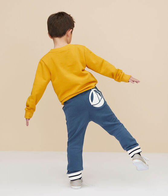 Boys' Sweatshirt Boudor yellow