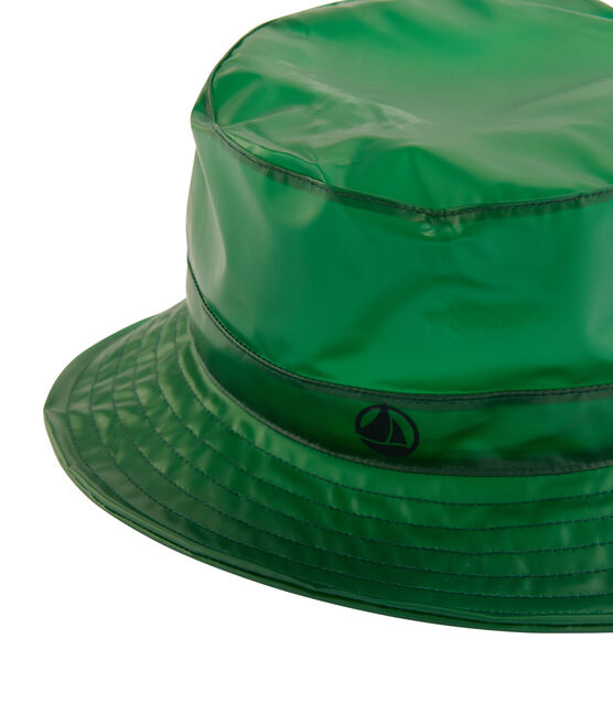 Children's bucket rain hat Prado green