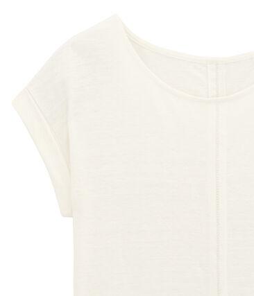 Short sleeve Tee-shirt Lait white