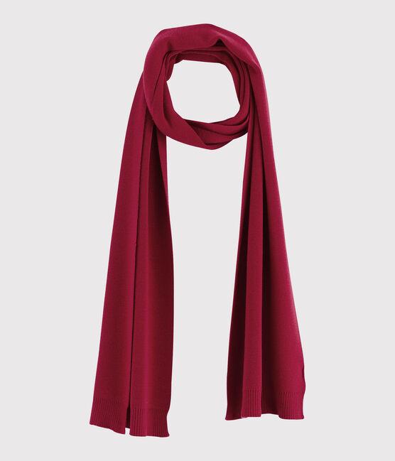 Women's woollen scarf Terkuit red