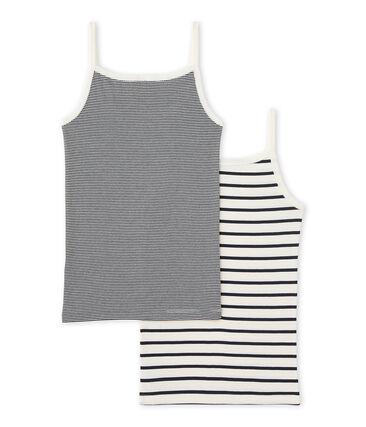 Girl's strap vest duo . set
