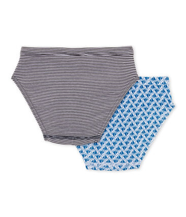 Pack of 2 boy's briefs . set