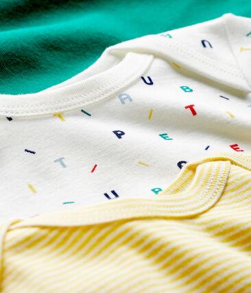 Baby Boys' Short-Sleeved Bodysuit - 3-Piece Set