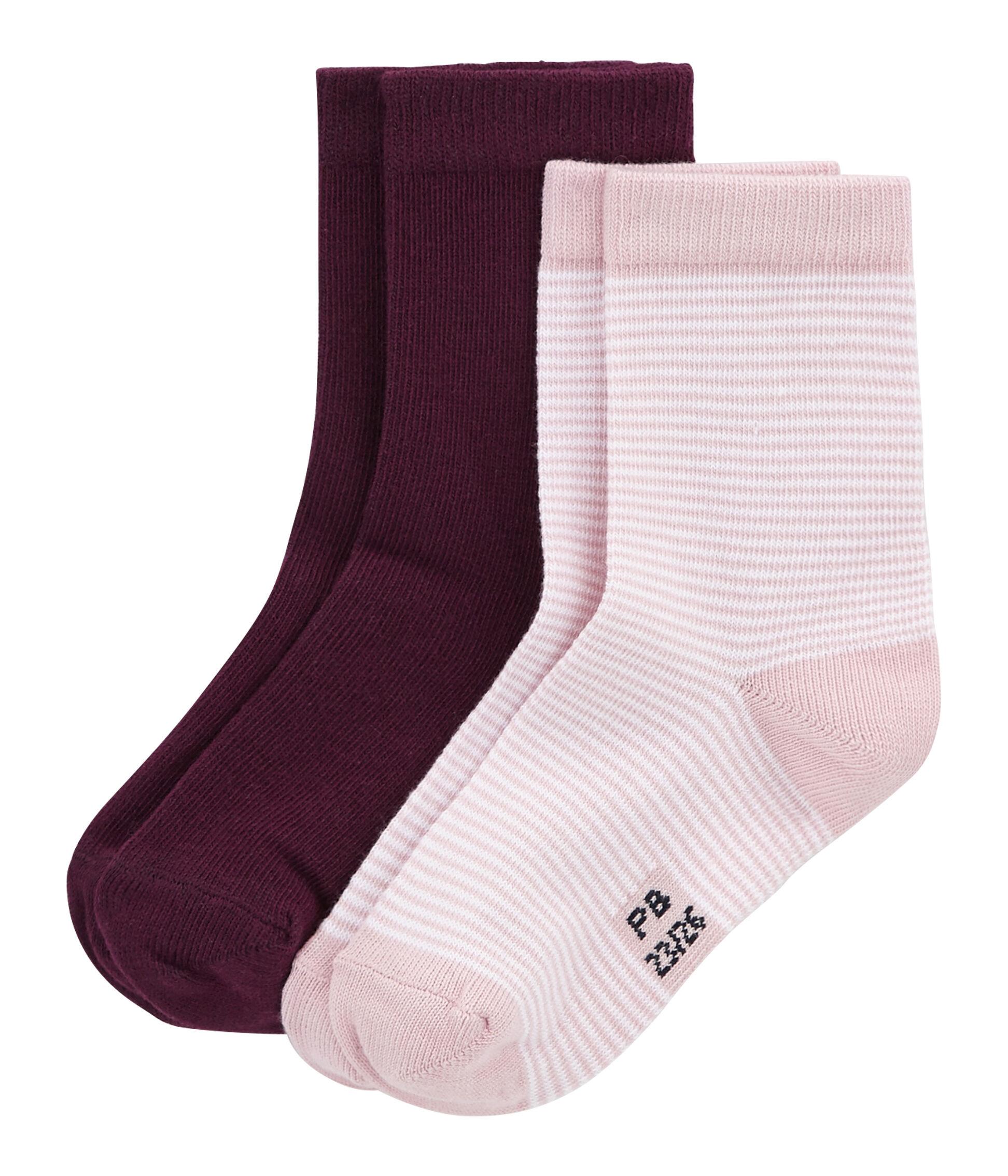 Kids Petit Bateau Big Boys Striped Socks