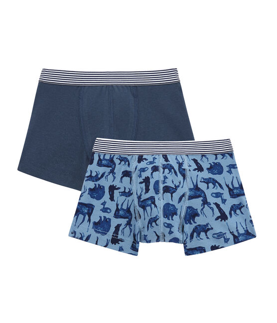 Little boy's boxer duo . set