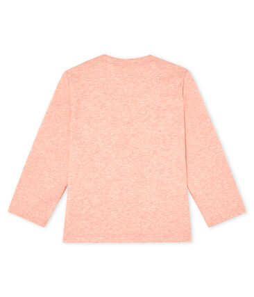 Baby boys' long-sleeved T-Shirt Aster Chine pink