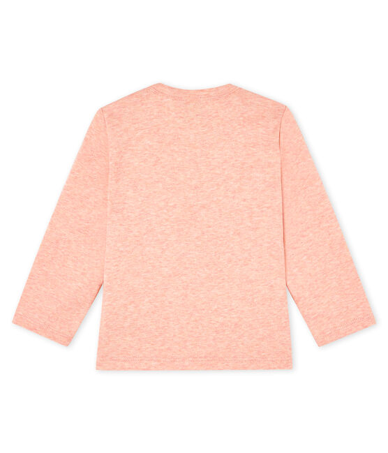 Unisex Baby's long-sleeved T-Shirt Aster Chine pink